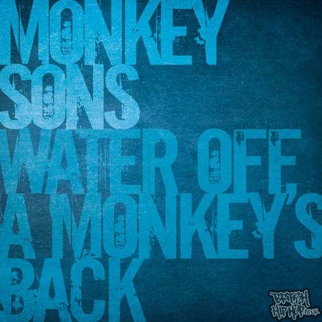 "Monkey Sons - Water Off A Monkey's Back 12"" [Naked Ape]"