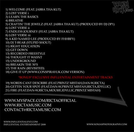 Ricta - Rictape [Audio]