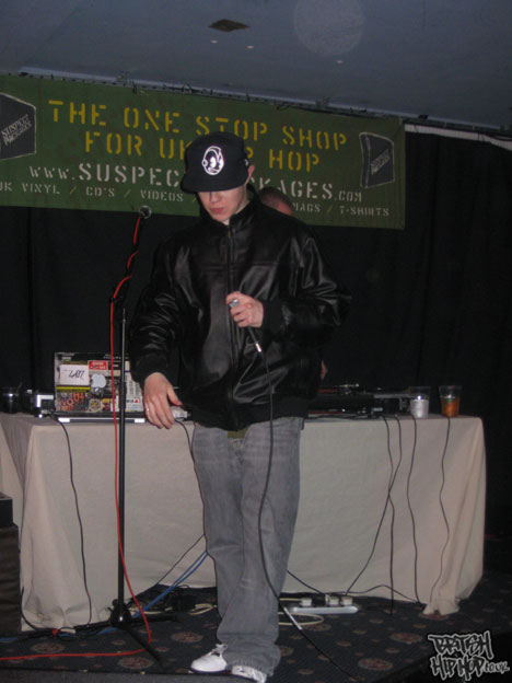 Suspect Packages April 16th 2010 - Cappo album launch (Genghis)