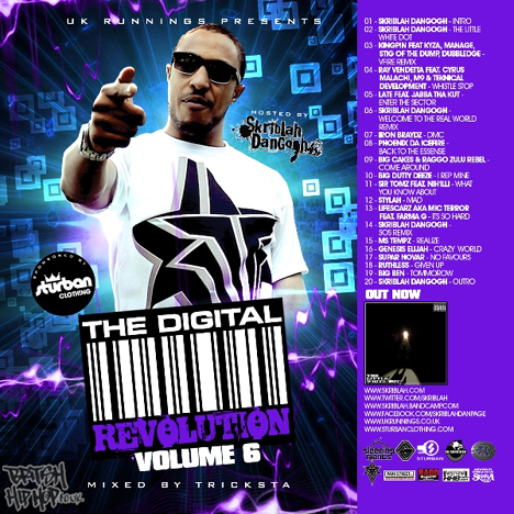 UK Runnings Presents Digital Revolution - Volume 6 - Hosted by Skriblah DanGogh LP [UK Runnings]