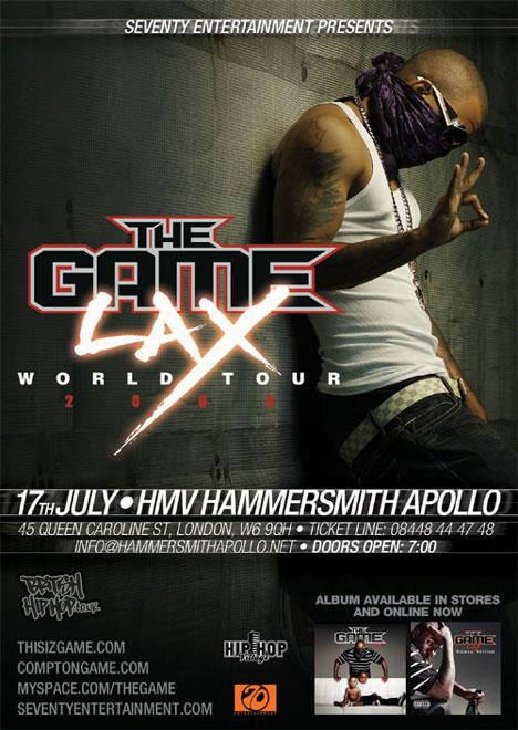 The Game Plays Hammersmith Apollo