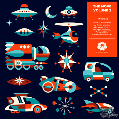 Various Artists - The Move Volume 2 LP [Tokyo Dawn Records]