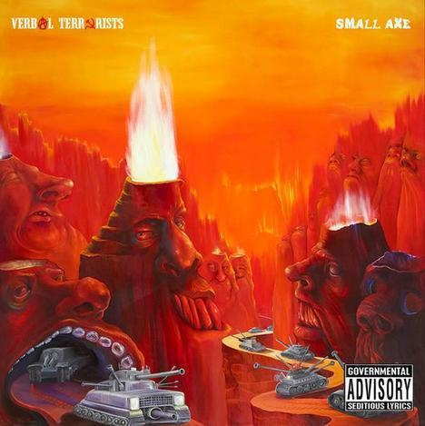 Verbal Terrorists - Small Axe LP [White Elephant]