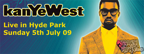 Kanye West Confirmed For Wireless 2009