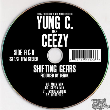 Yung C aka Ceezy - Shifting Gears MP3 [360247]