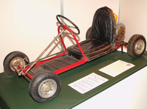 Art Ingels first every kart