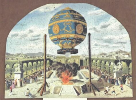 Montgolfier's Hot Air Baloon-404 pieces