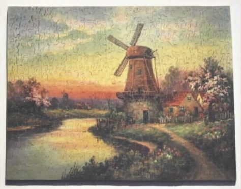 The Mill By the Stream-600 pieces