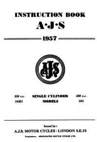 1957 AJS Singles Instruction book