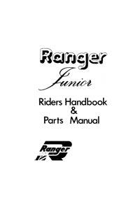 NVT Ranger junior handbook & parts list