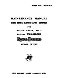 Royal Enfield W.D. models