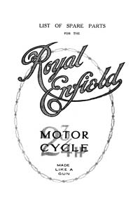 Royal Enfield 1920-1939