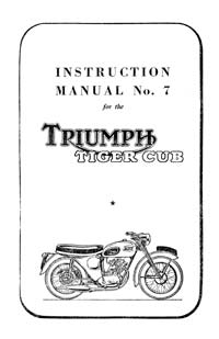 Triumph-Tiger-cub-workshop-manual-No.7