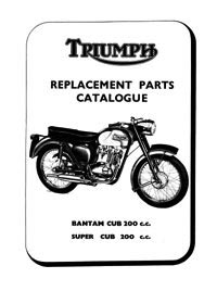 1967 Triumph Bantam cub parts list