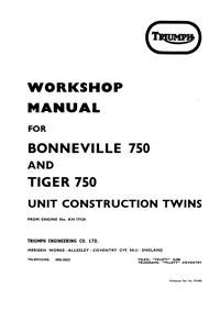 1963-1982 Twins 650 & 750cc