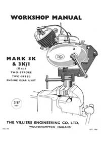 Mark 3K & 3K/I Workshop manual