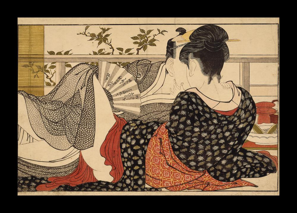 Image result for Utamaro lovers