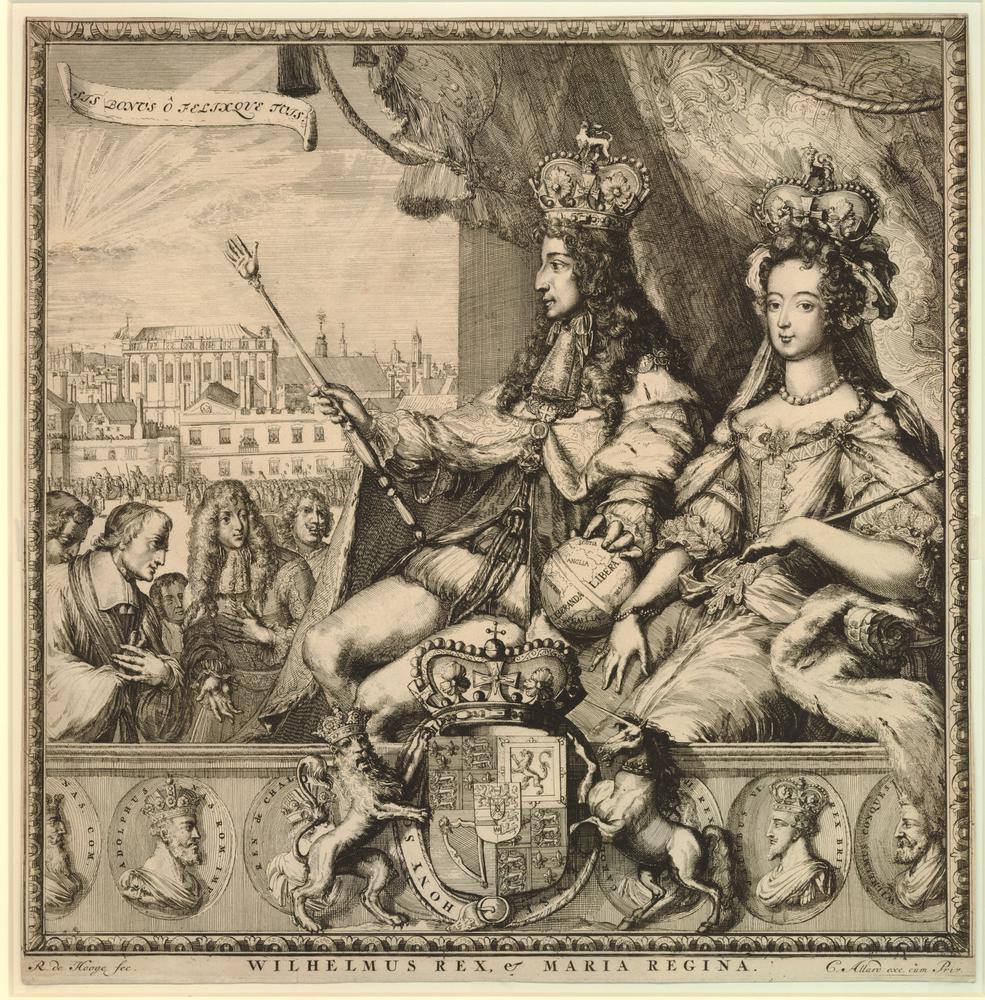 Afbeeldingsresultaat voor william iii and mary ii