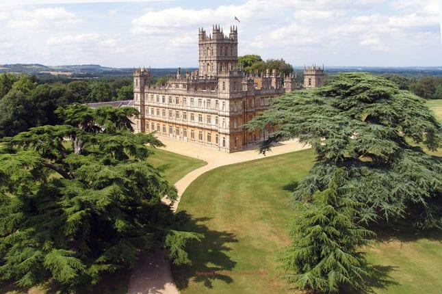 World famous Highclere Castle