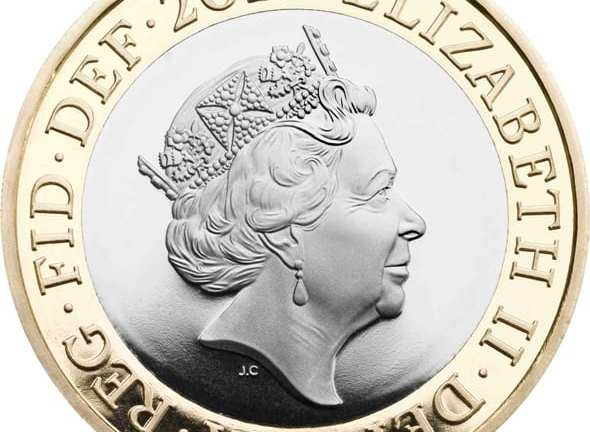 Brand new portrait of the Queen to grace UK coins