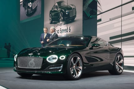 Bentley unveils bold visions of luxury & performance at Geneva