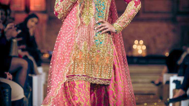 Fashion Parade Bride Hits The Runway With Nomi Ansari