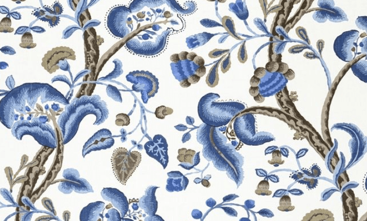 4 timeless blue and white fabrics