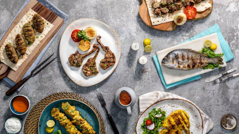 Lighting up London with Emirati food