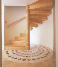 Wooden Spiral Staircases  British Spirals & Castings
