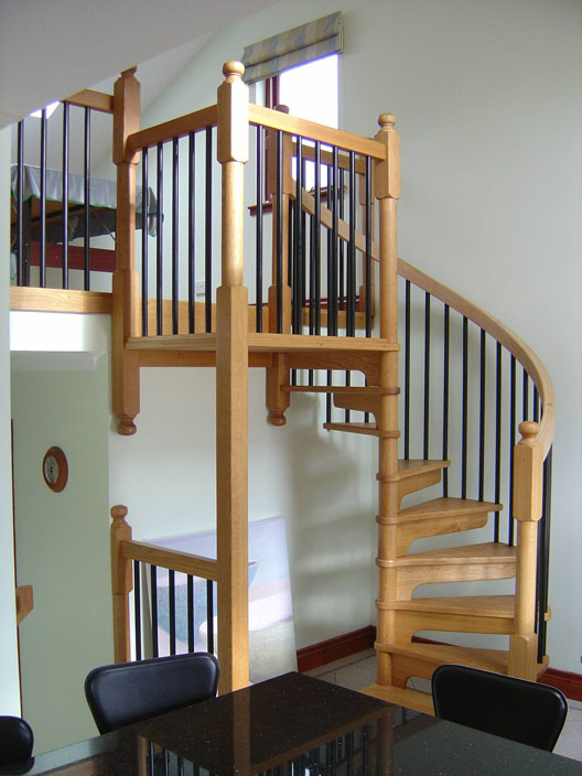 Wooden Spiral Staircases British Spirals Amp Castings