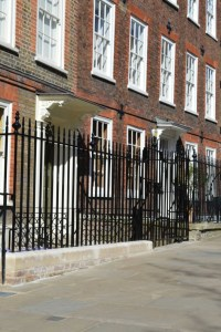 Cast Iron Victorian Railings - British Spirals and Castings