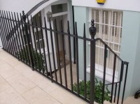 Cast Iron Victorian Railings
