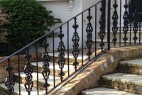 Cast & Wrought Iron Railings - British Spirals and ...