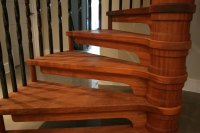 Guest Blog: Wood Finishes for Stairs  British Spirals