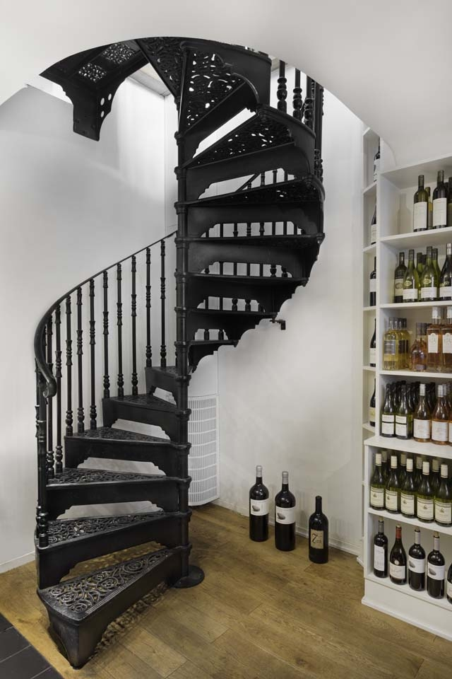 Traditional Victorian Cast Spiral Staircases – British Spirals   The Iron Shop Spiral Staircase   Stairs Built   Loft Staircase   Attic Loft   Staircase Ideas   White Spiral