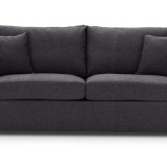 Sleeper Sofa No Arms Liaigre Beluga Beds Special Offer Rounded Charcoal