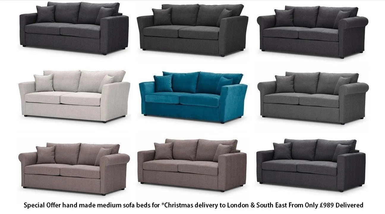 corner sofa bed east london english arm slipcover sofas and beds british made at just