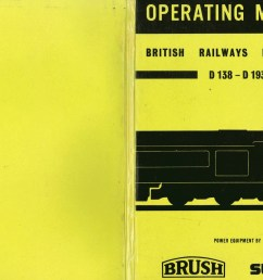 operation manual british railways locomotives d138 d193 brush electrical engineering  [ 1914 x 1348 Pixel ]