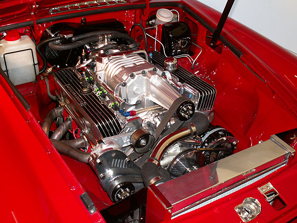 Gto Belt Diagram How To Under Hood Eaton M90 Supercharger On An Mgb With A