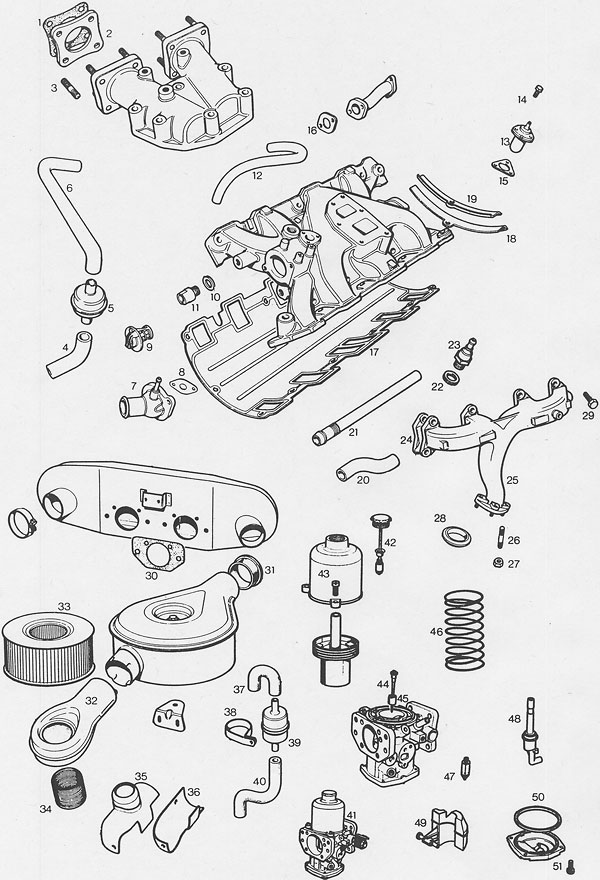 Moss Motors' MGB GT V8 Parts Supplement (Illustrated Auto