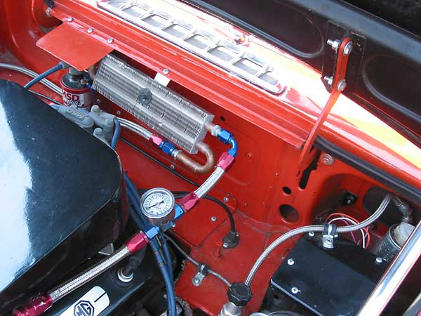 Bill Guzmans 34L GM V6 powered 1974 MGB by Classic