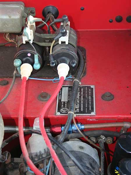Jonathan Lamsons 1960 MGA Twin Cam with Mazda 12A Rotary Engine