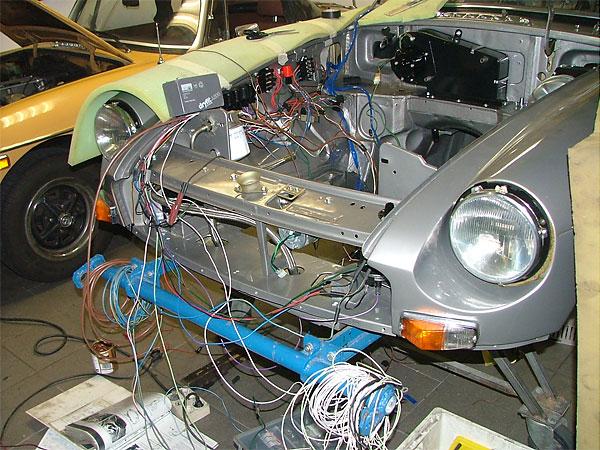 Mgb Starter Wiring Diagram Peter Van De Velde S Rover 3 5 V8 Powered 77 Mgb