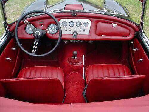 1962 Daimler SP250 roadster with Ford 289 V8 Engine