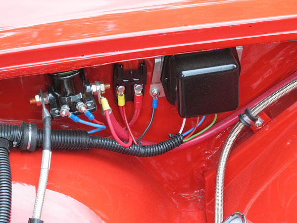 Volvo P1800 Wiring Diagram
