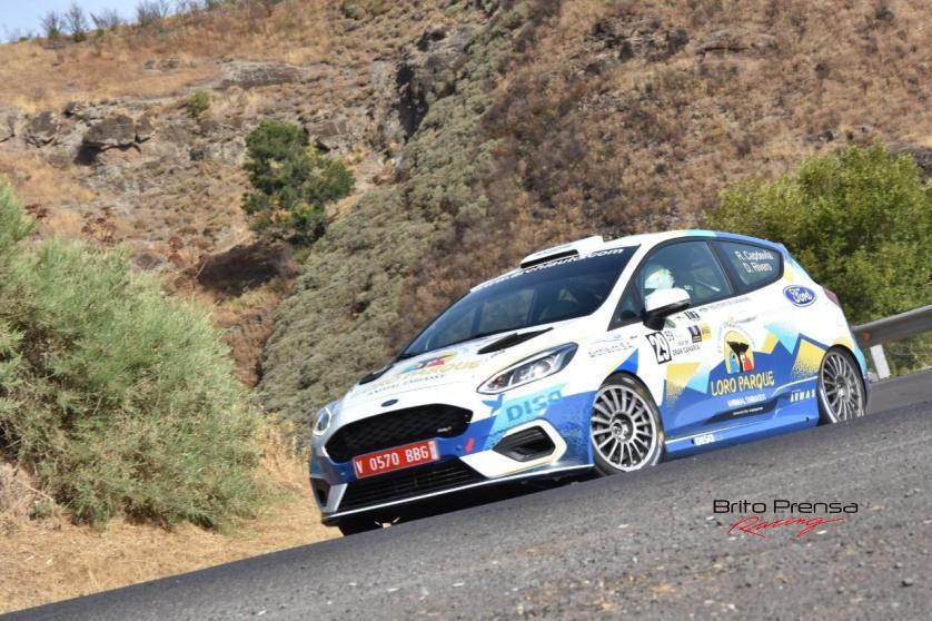 Gran debut del Fiesta Rally4 del equipo FORD-LORO PARQUE