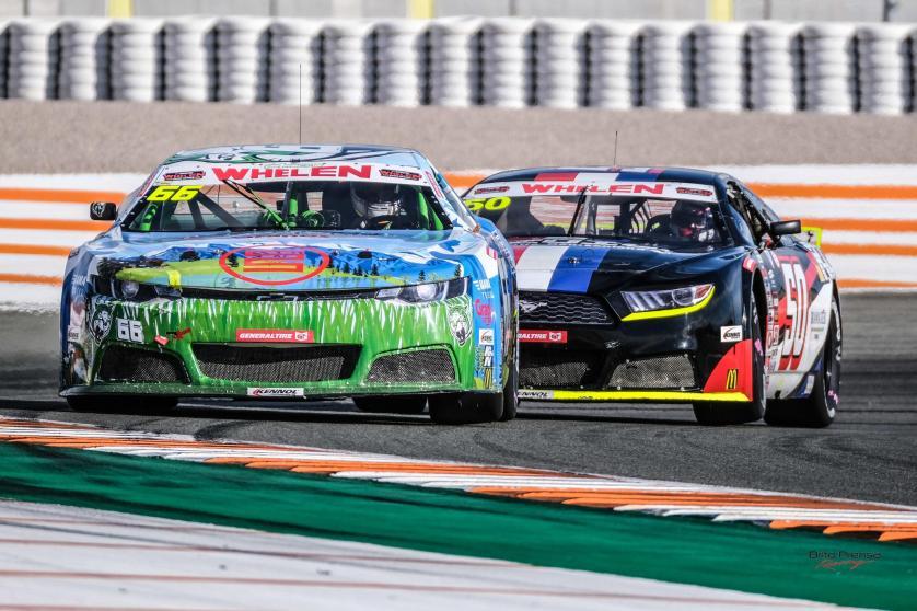 Soerensen gana la primera carrera de la NASCAR europea en Valencia