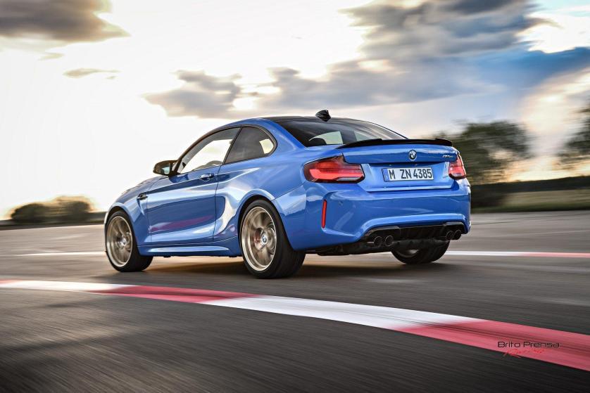 El M2 CS viene de serie con unos Michelin Pilot Sport Cup 2