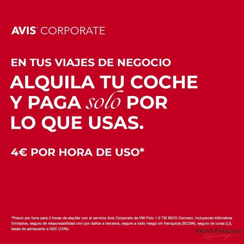 AVIS lanza AVIS Corporate
