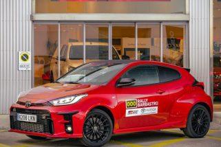 Toyota GR Yaris: Coche Oficial del Rally de Barbastro